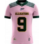 Camisa Of. Alligators Football Tryout Masc. Outubro Rosa