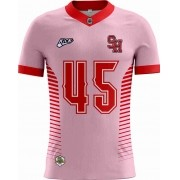 Camisa INFANTIL Araras Steel Hawks Tryout Outubro Rosa