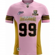 Camisa Of. Cacoal Bulldogs Tryout Masc. Outubro Rosa