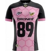 Camisa INFANTIL Ijuí Drones Tryout Outubro Rosa