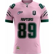 Camisa Of. Manaus Raptors Tryout Masc. Outubro Rosa