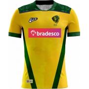 Camisa Of. Sel. Brasileira Rugby YARAS Jg.1 Fem.