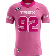 Camisa Of. T-REX Tryout Fem. Outubro Rosa
