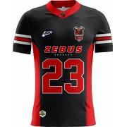 Camisa Of. Uberaba Zebus Tryout Inf. Mod1