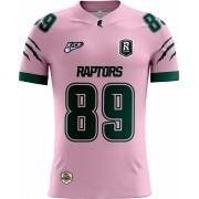 Camisa Of. Manaus Raptors Tryout Fem. Outubro Rosa