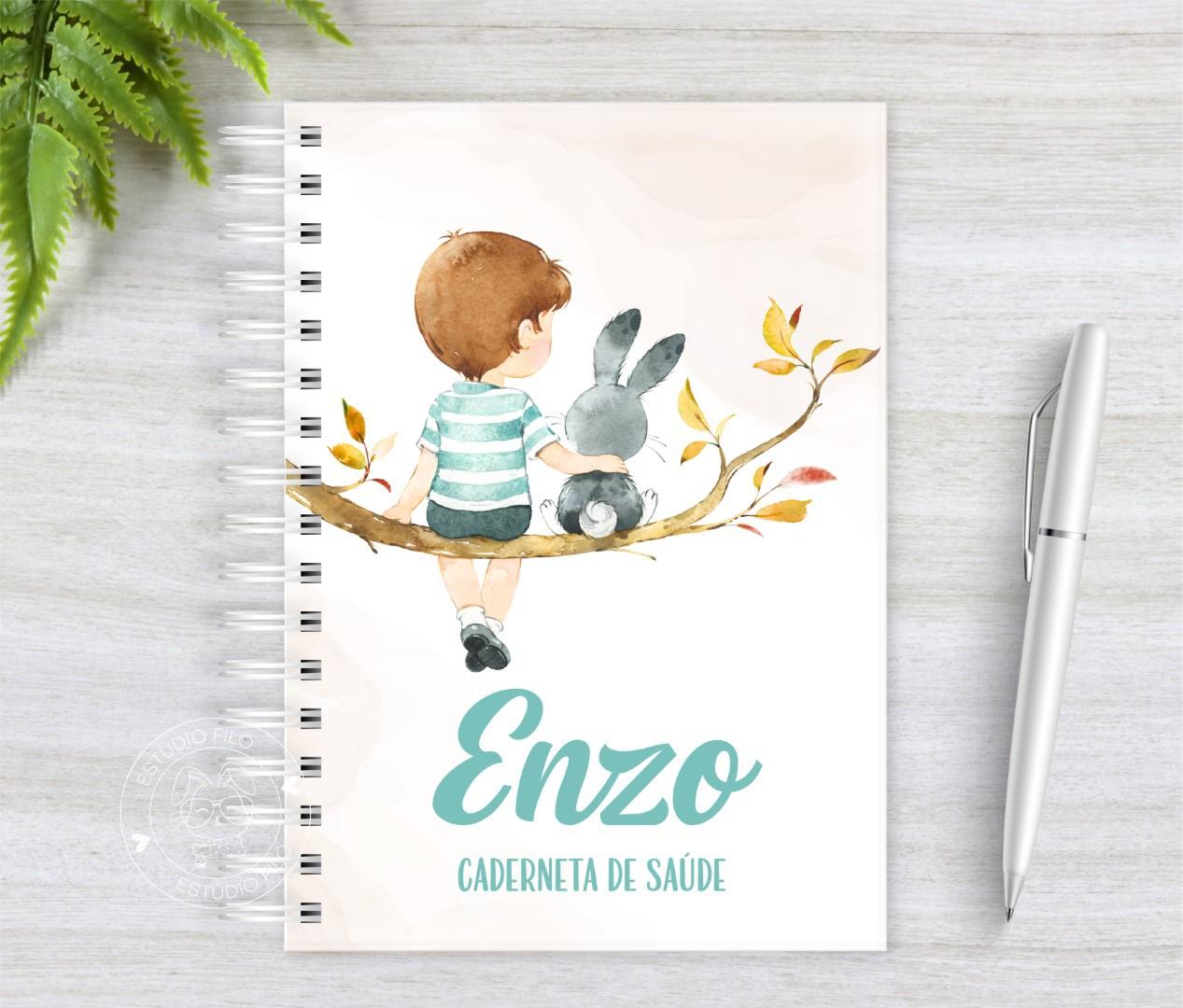Caderneta de vacinação menino 2020