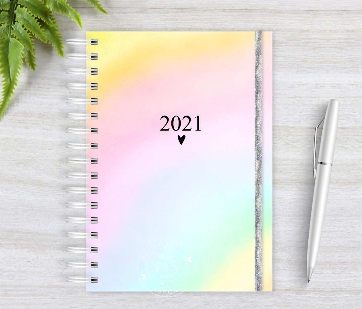 Agenda Tie Dye 2021