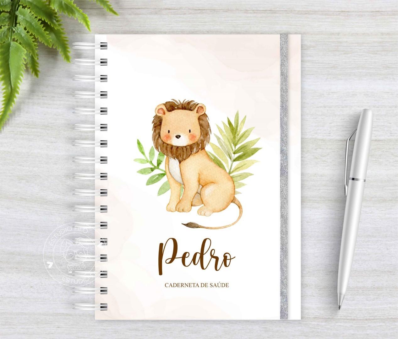 Caderneta de vacinação Leão