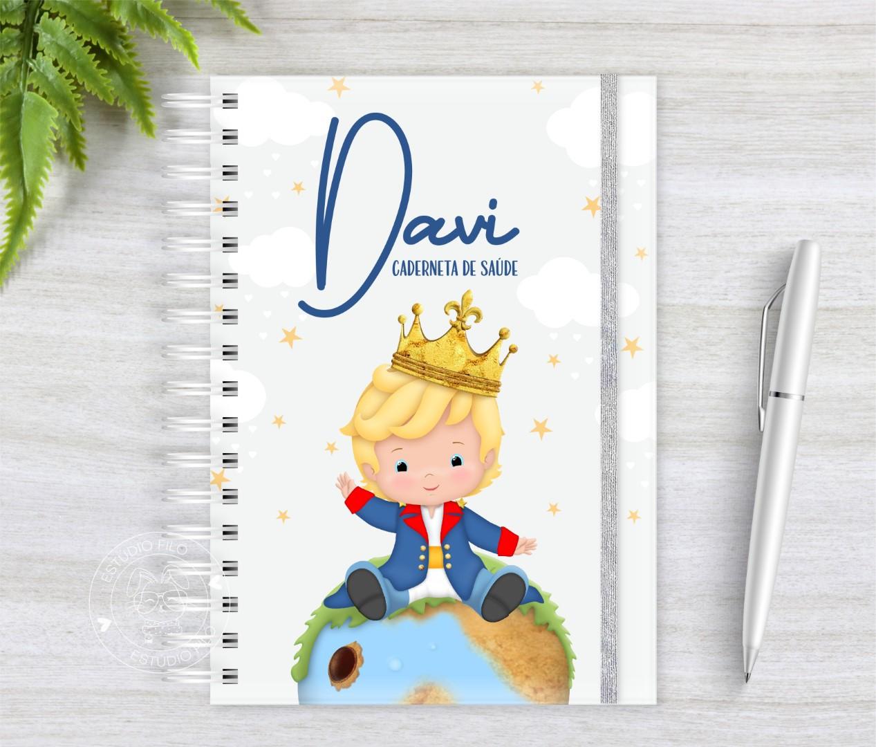 Caderneta de vacinação Pequeno principe