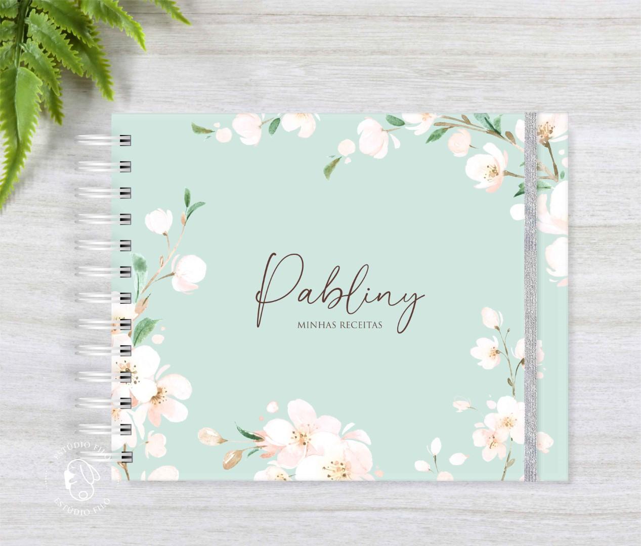 Caderno de receitas cerejeira
