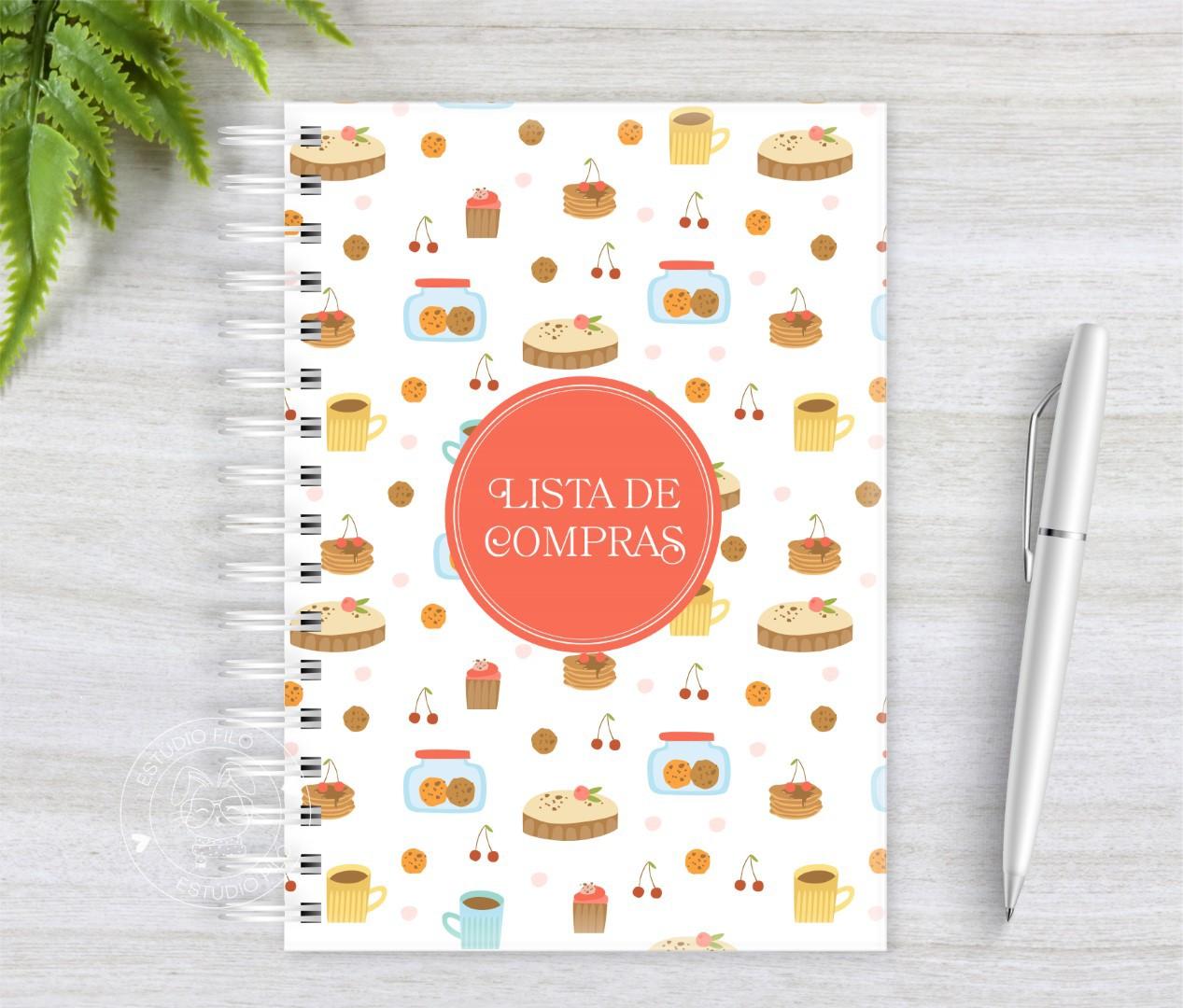 Caderno Lista de Compras