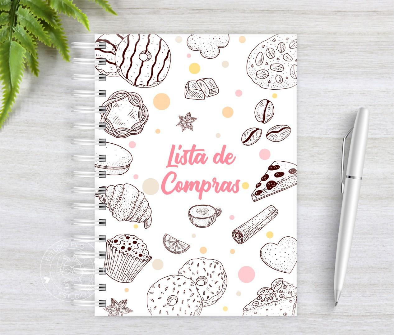 Caderno Lista de Compras Candy