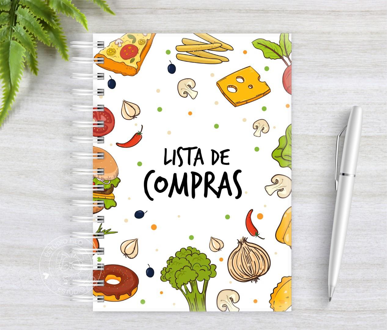 Caderno Lista de Compras Food