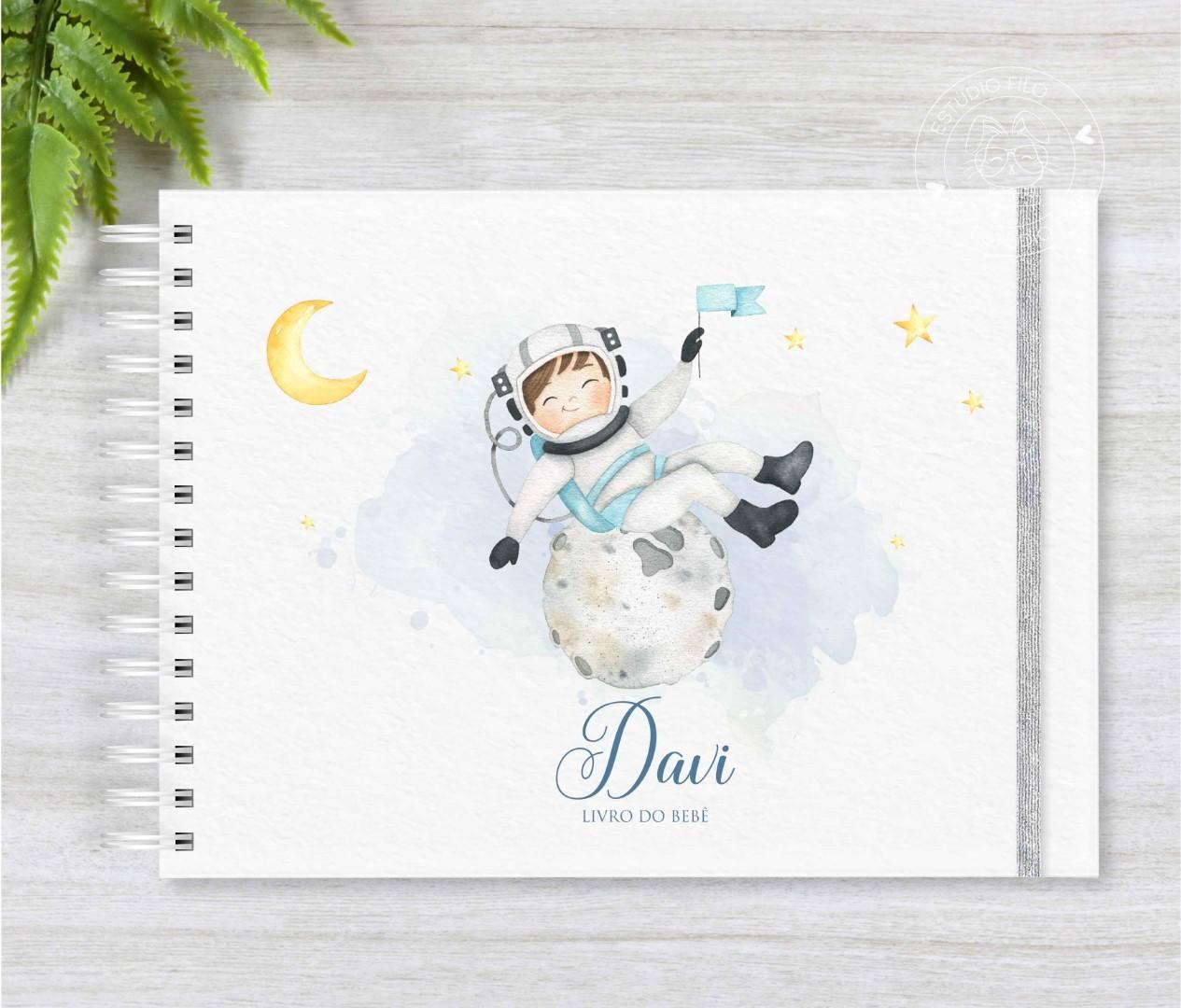 Livro do bebê astronauta