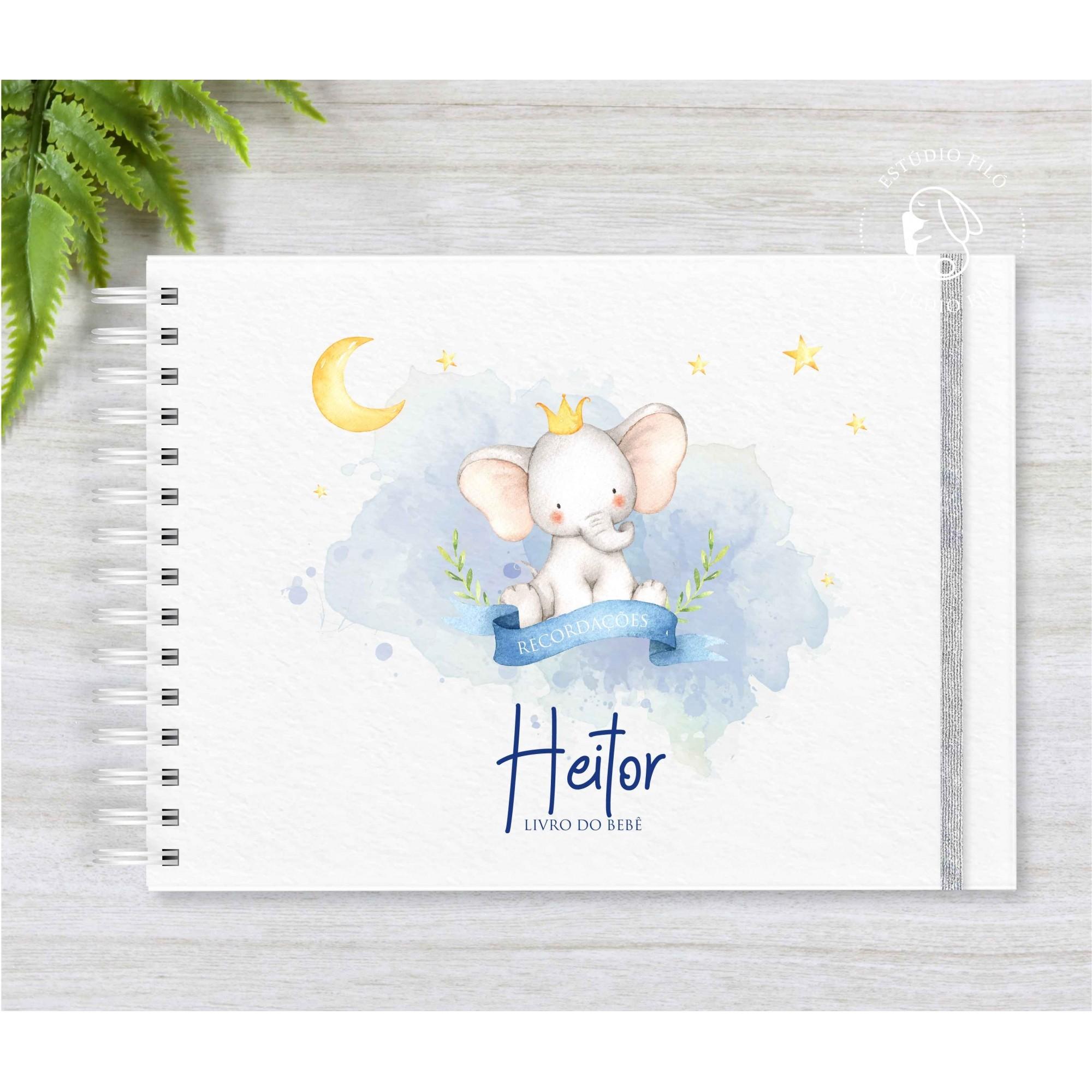 Livro do bebê Elefante