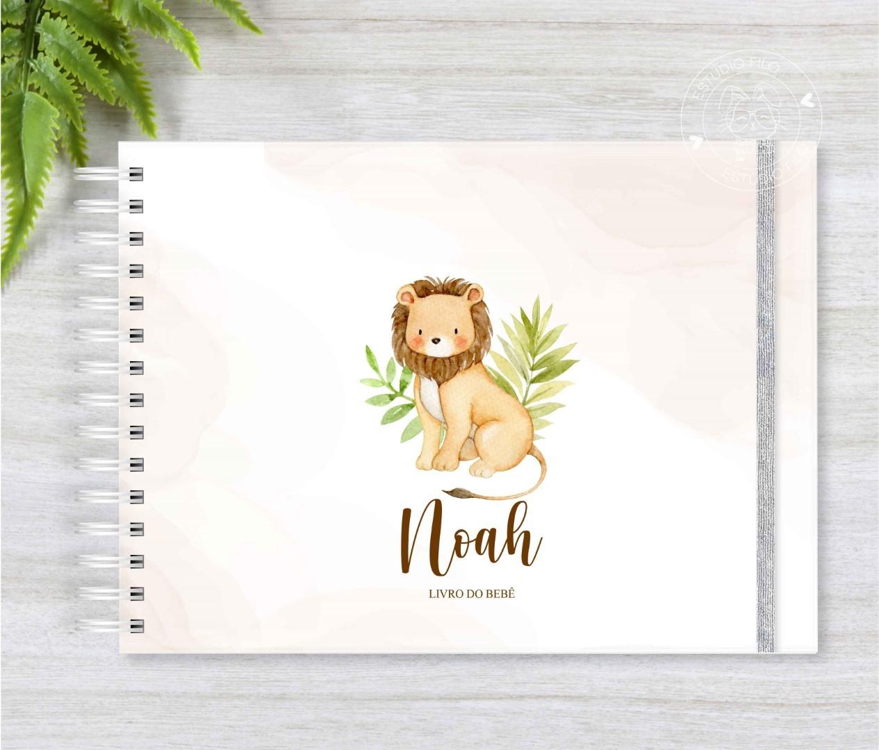 Livro do bebê Leãozinho