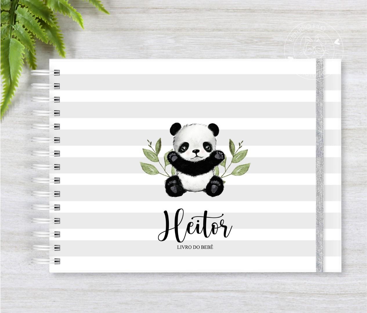 Livro do bebê Panda