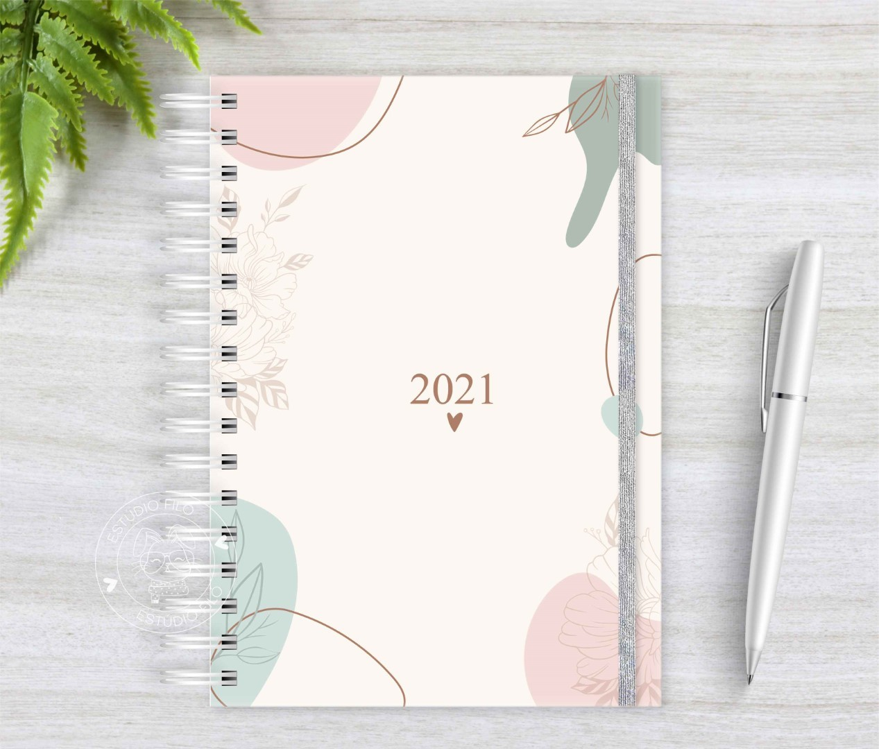 Planner Abstrato 2021