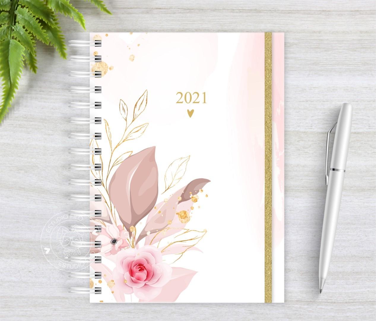 Planner Floral 2021