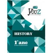 Livro History 1º ano Fund I Bilíngue