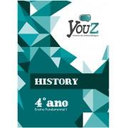 Livro History 4º ano Fund I Bilíngue
