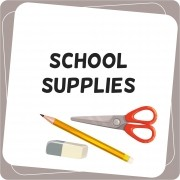 School Supplies English Activities