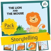 The Lion and the Mouse - Storytelling activities