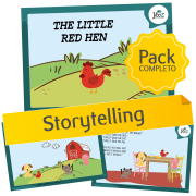 The Little Red Hen - Storytelling activities