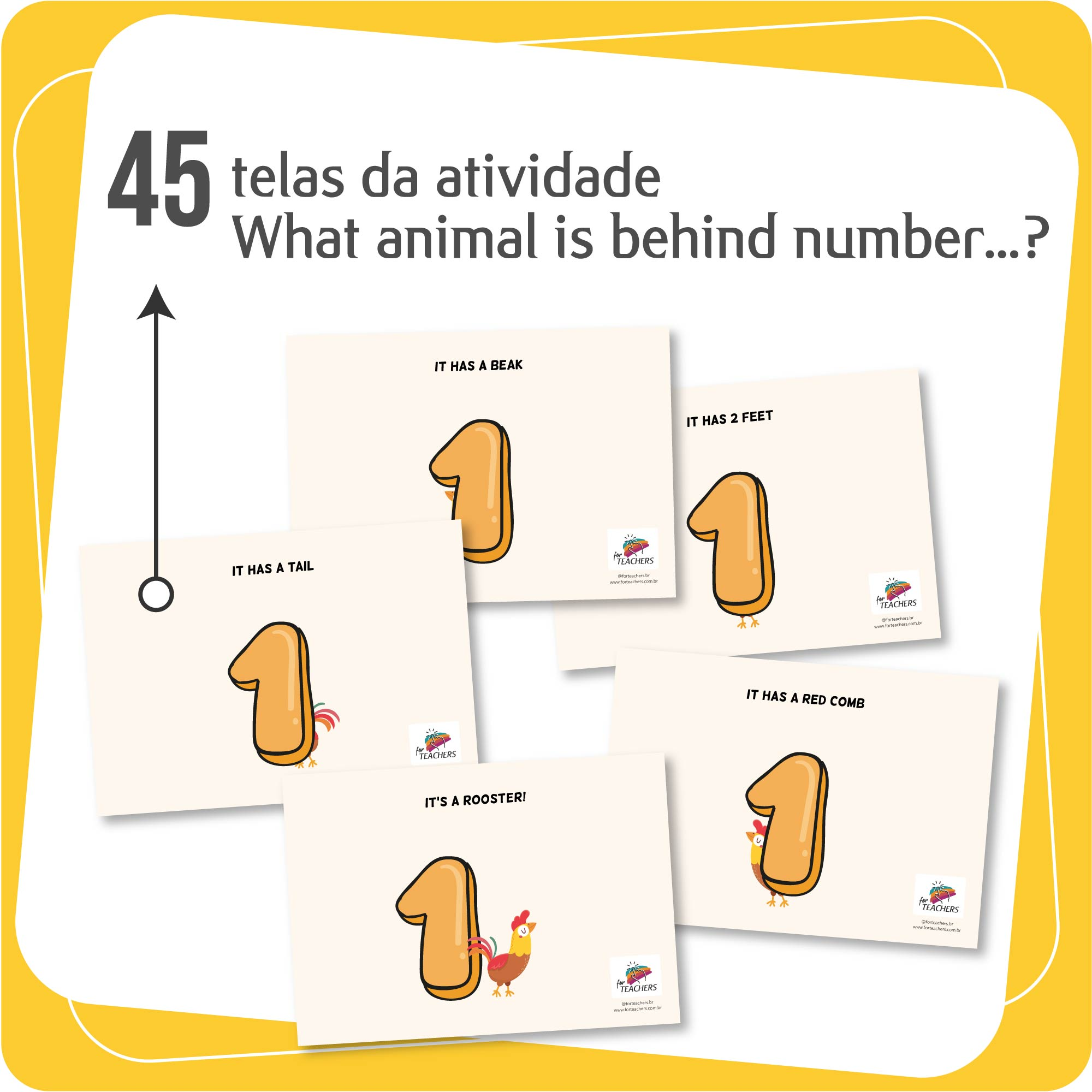 Animals and Numbers - Activities for online classes