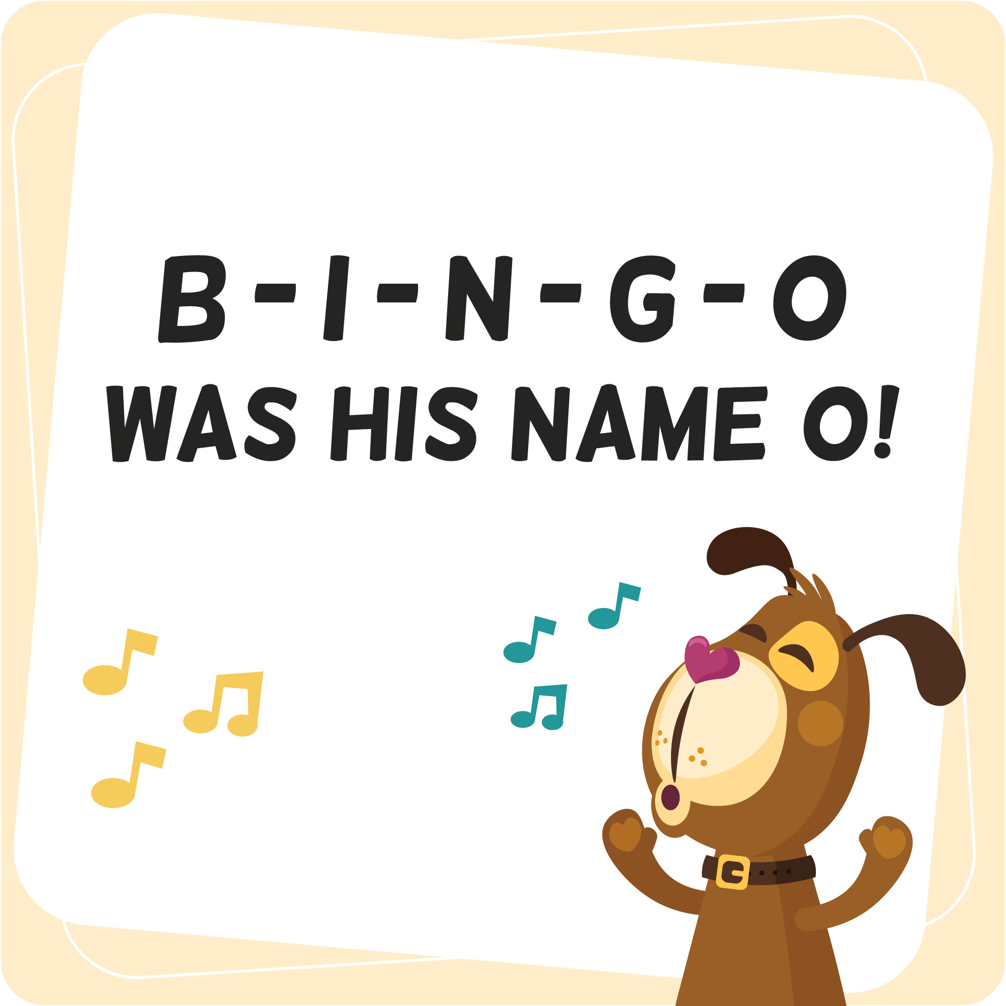 Bingo was his name O