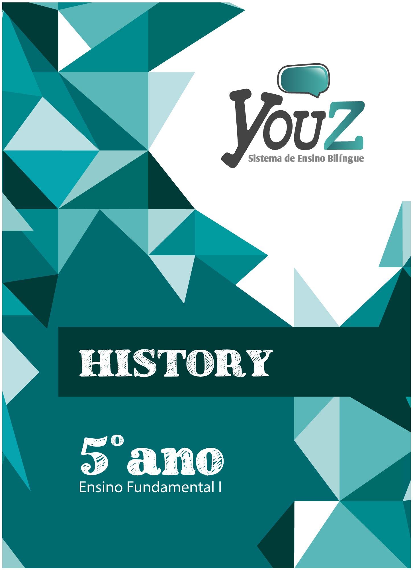 Livro History 5º ano Fund I Bilíngue