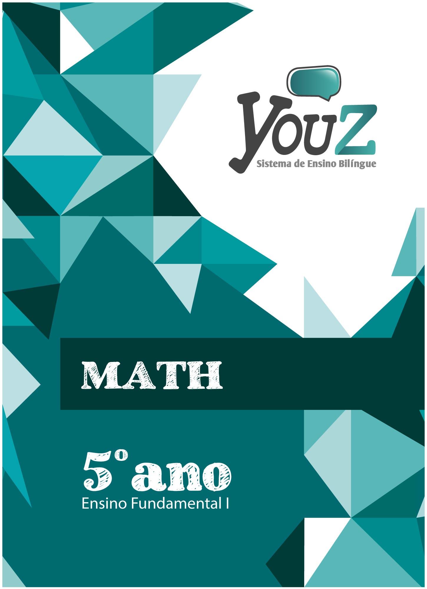 Livro Math 5º ano Fund I Bilíngue