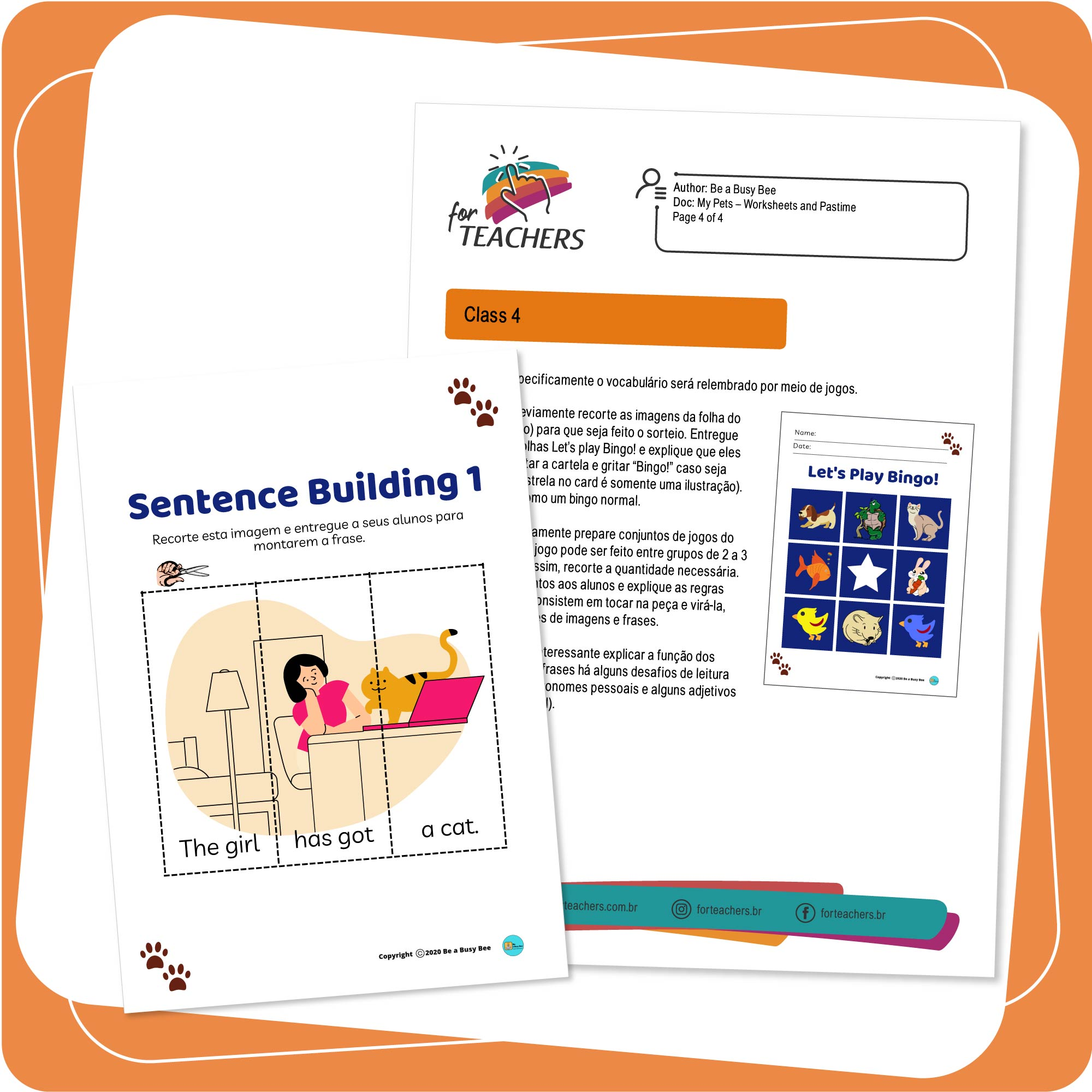 Pets Worksheets and Pastime