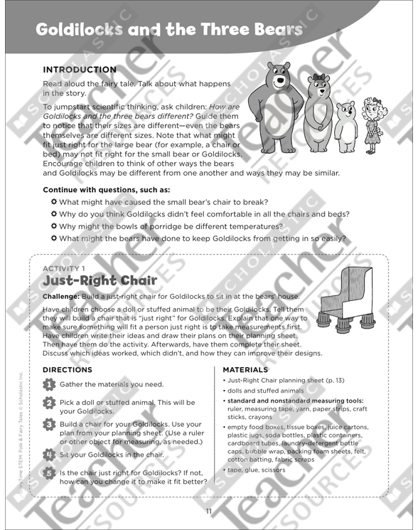 STEM Activities Folk and Fairy Tales