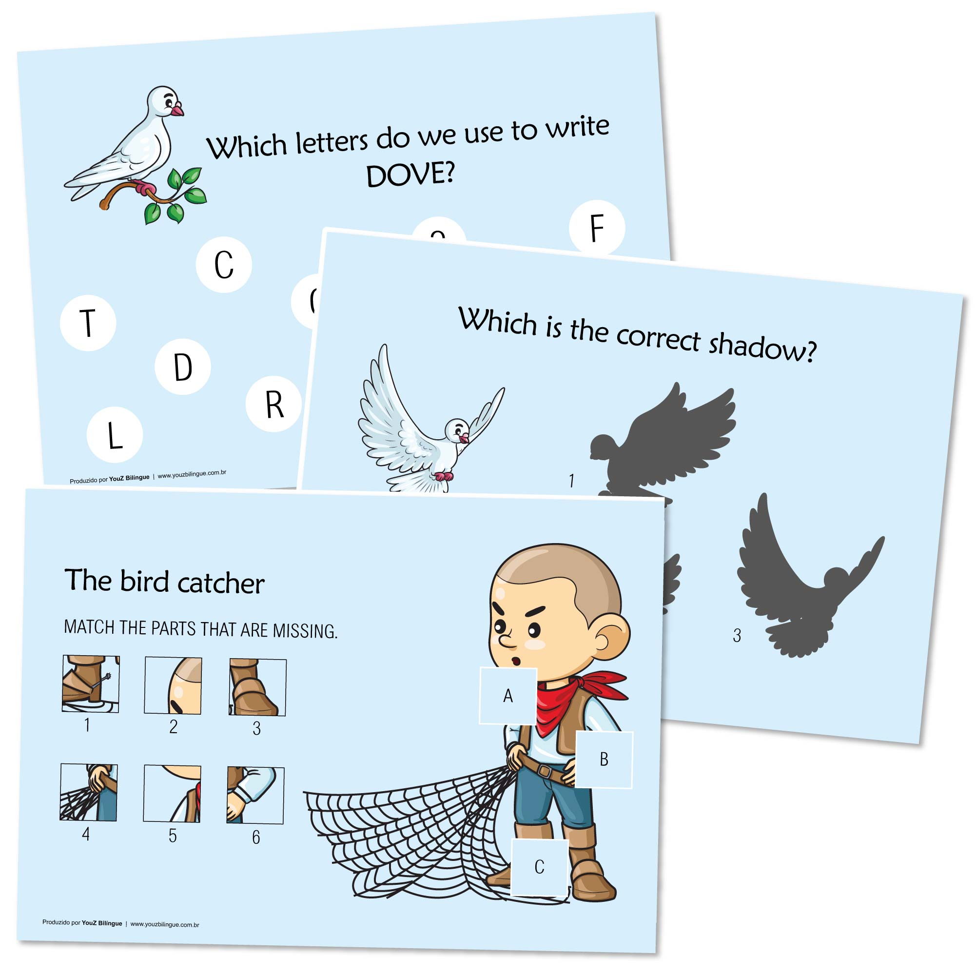 The Ant and the Dove - Storytelling activities