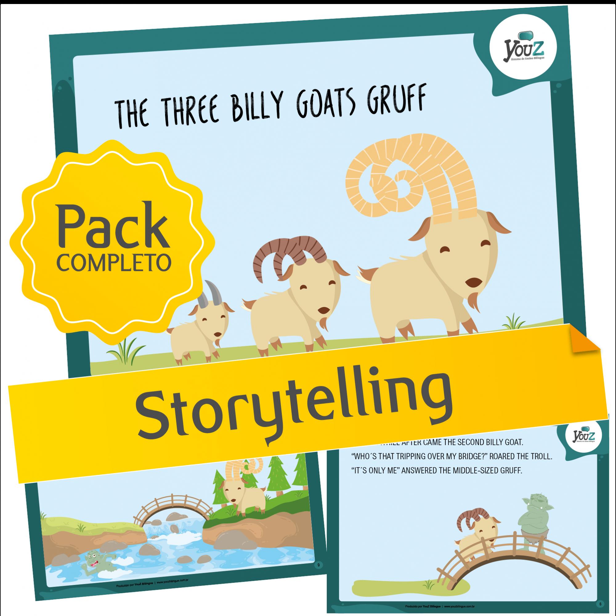 The Three Billy Goats Gruff - Storytelling activities