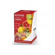 ENERGY FRUTAS CÍTRICAS DISPLAY C/12 SACHÊS DE 20 GR CADA MOOVE NUTRITION