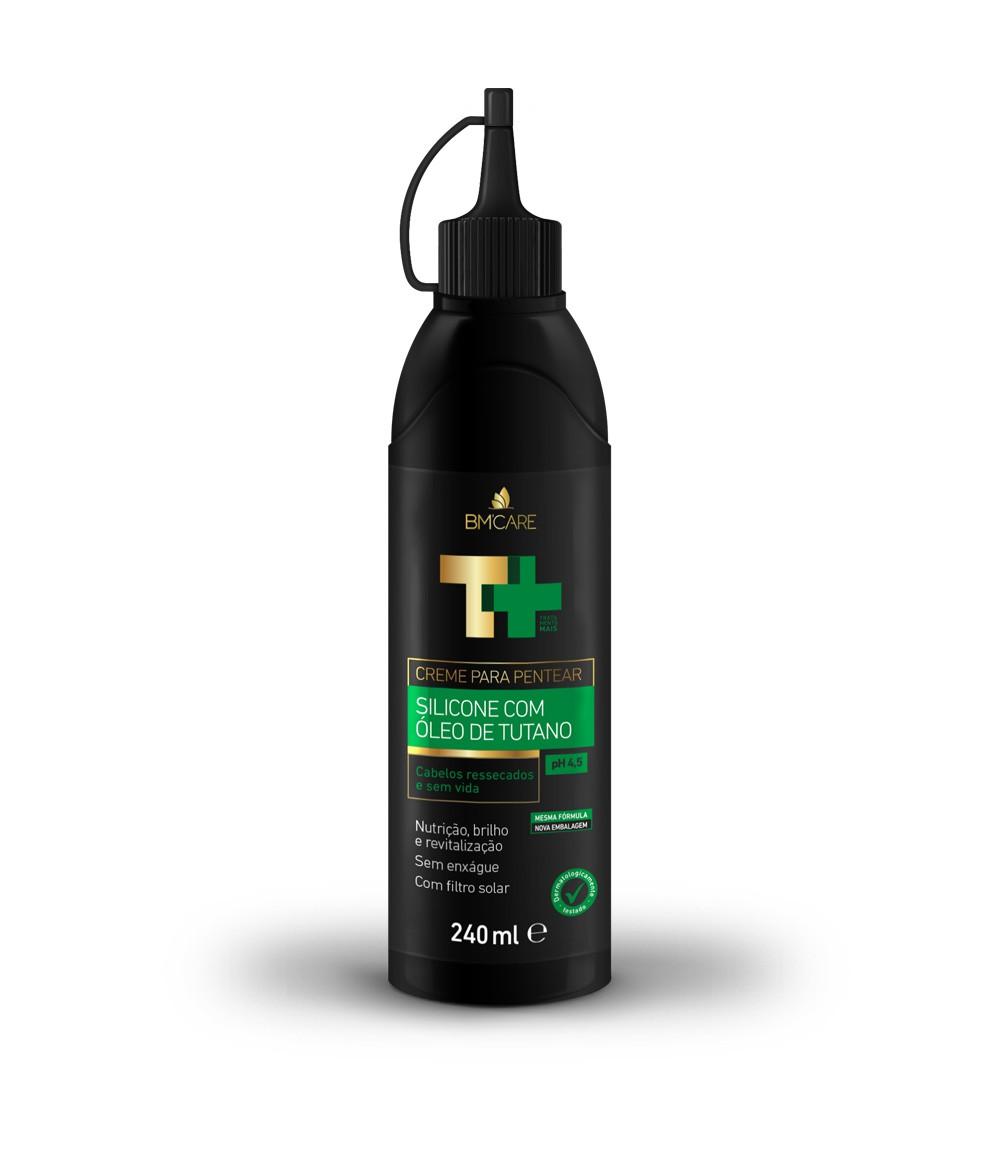 Creme De Pentear Silicone Com Óleo de Tutano T+ 240ml Barro Minas