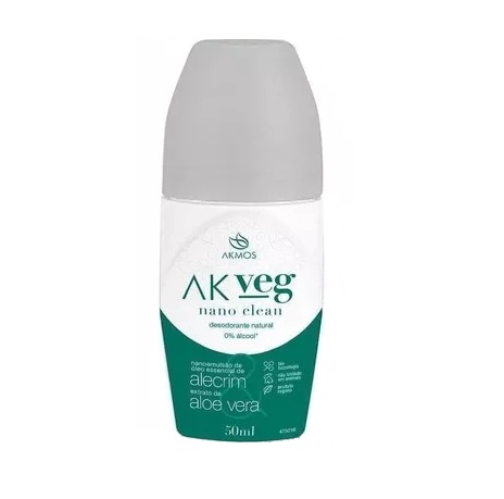 Desodorante Natural Vegano 50ml Akmos