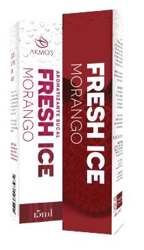 FRESH ICE AROMATIZANTE BUCAL MORANGO 15ML AKMOS