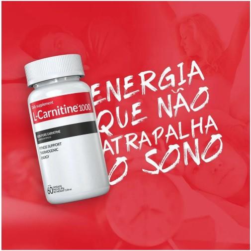 L-Carnitina 1000 - 60 Cápsulas Inove Nutrition