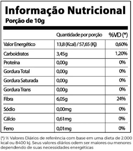 FIBER MAMÃO COM LARANJA 1 SACHÊ 20GR MOOVE NUTRITION