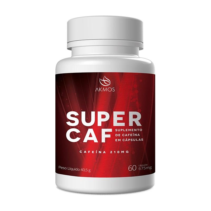 Super Caf 60 Cápsulas de 675mg Akmos