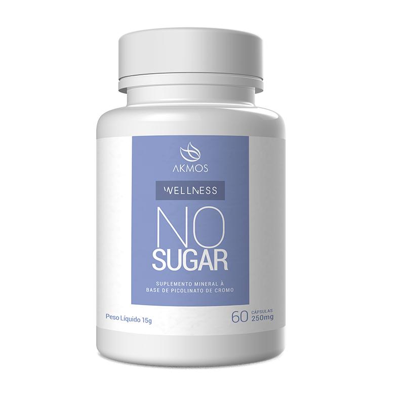 No Sugar 60 Cápsulas de 250mg Akmos