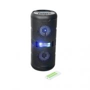 Caixa de Som sem fio Bluetooth, Pendrive, Rádio FM, Microfone e Cartão de memória