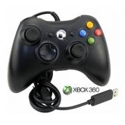 Controle com fio compatível com Xbox 360 e Computador