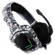 Headphone Gamer Profissional K20 com Led RGB