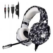 Headphone Gamer Profissional K18 Camuflado