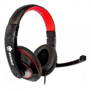 Headset Fone de Ouvido Gamer PC Thardus 2 conector P2 + adaptador para P3