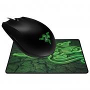 Mouse usb Razer Abyssus + mouse pad Goliathus